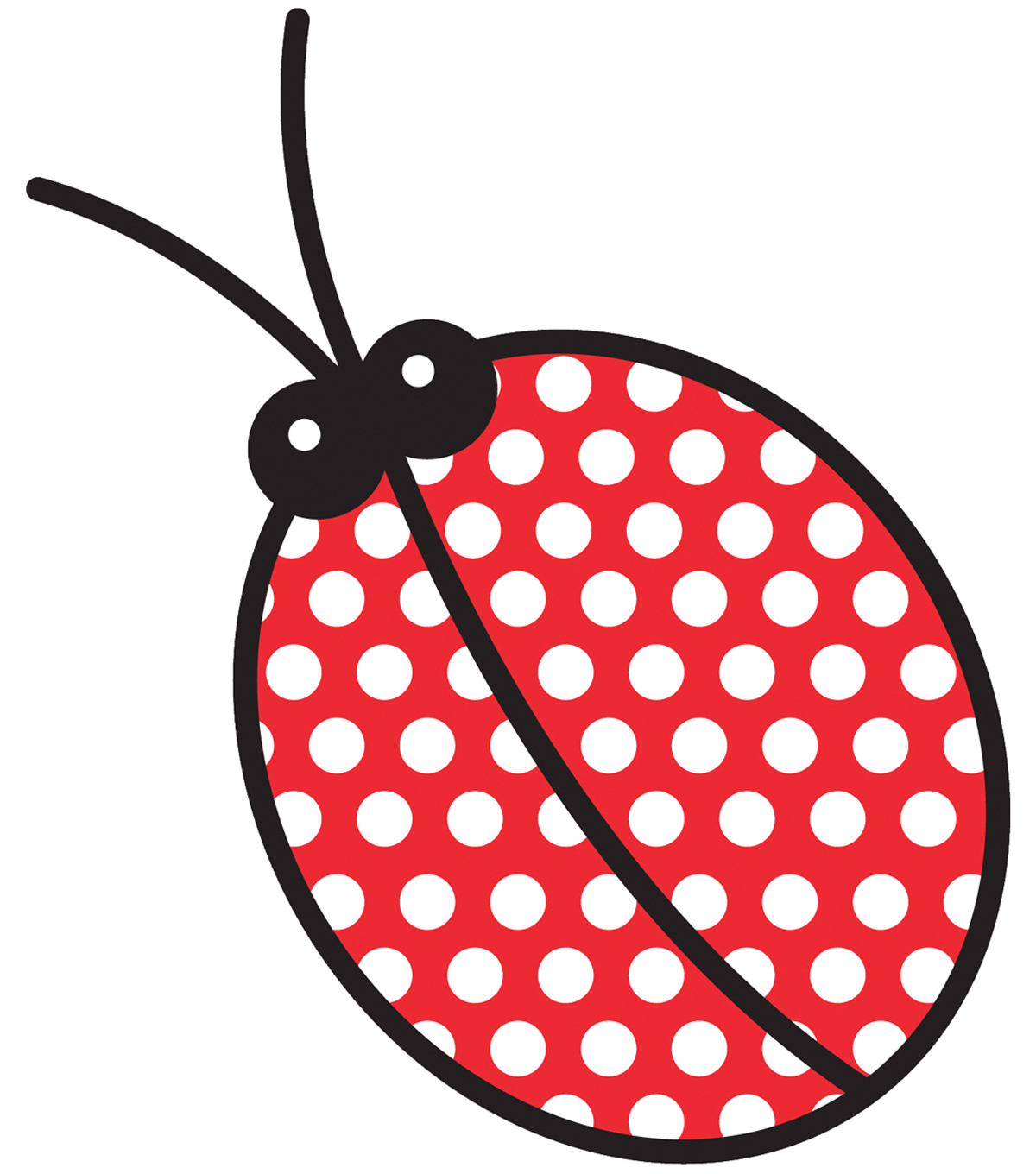 Wrights Especially Baby Iron-On Appliques-Lady Bug 3\u0022X5-5/8\u0022 1/Pkg