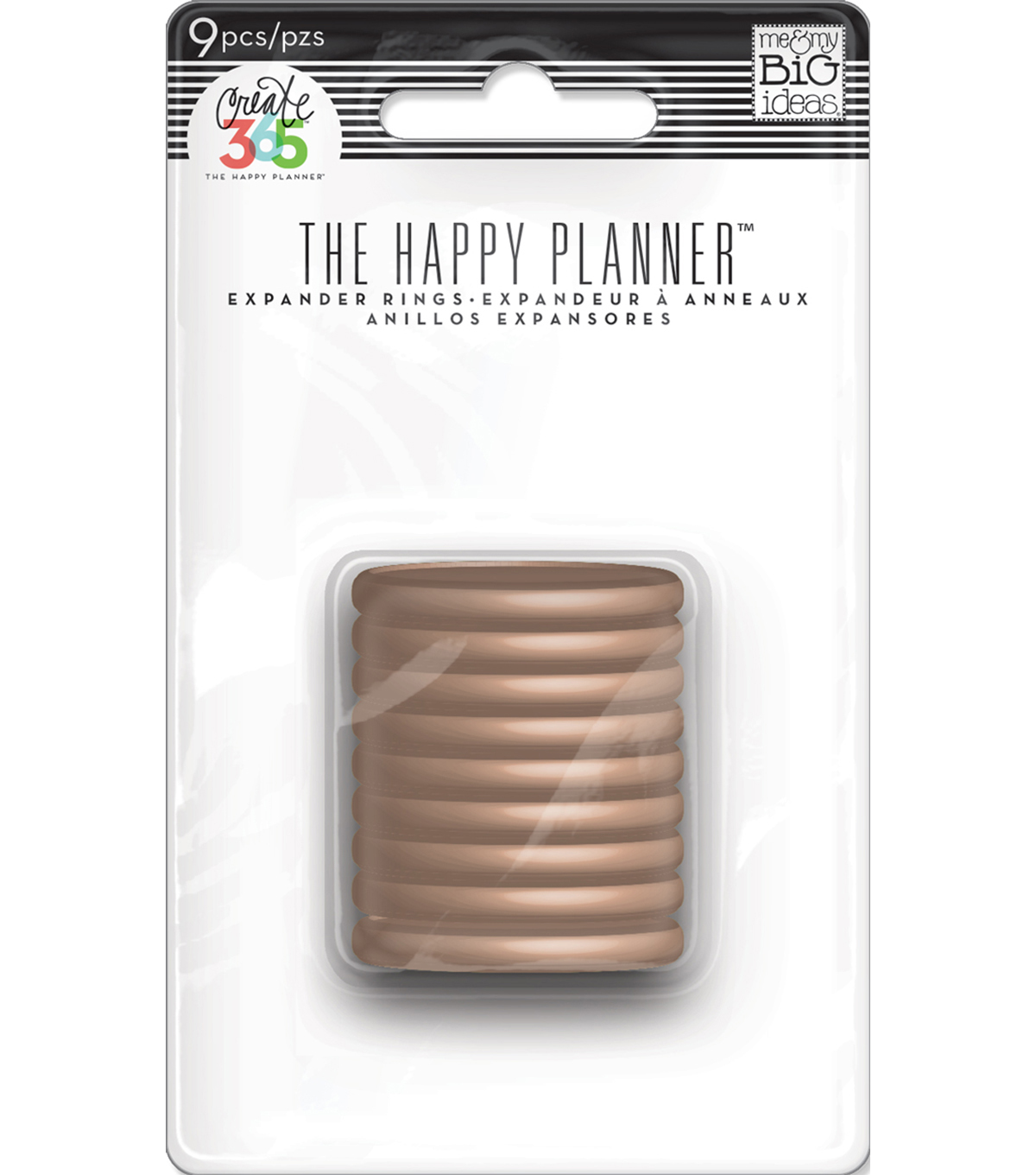 Create 365 The Happy Planner™ Medium Discs-Rose Gold