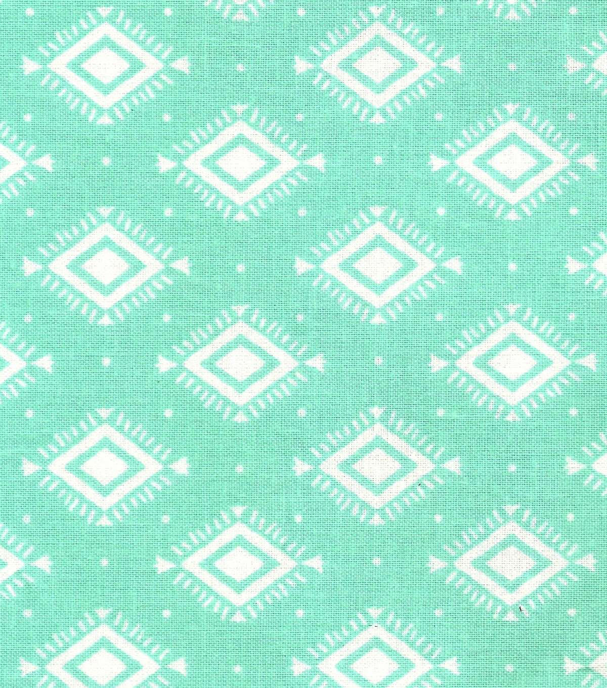 "Quilter's Showcase™ Cotton Fabric 44""-Yucca Aztec Geometric"
