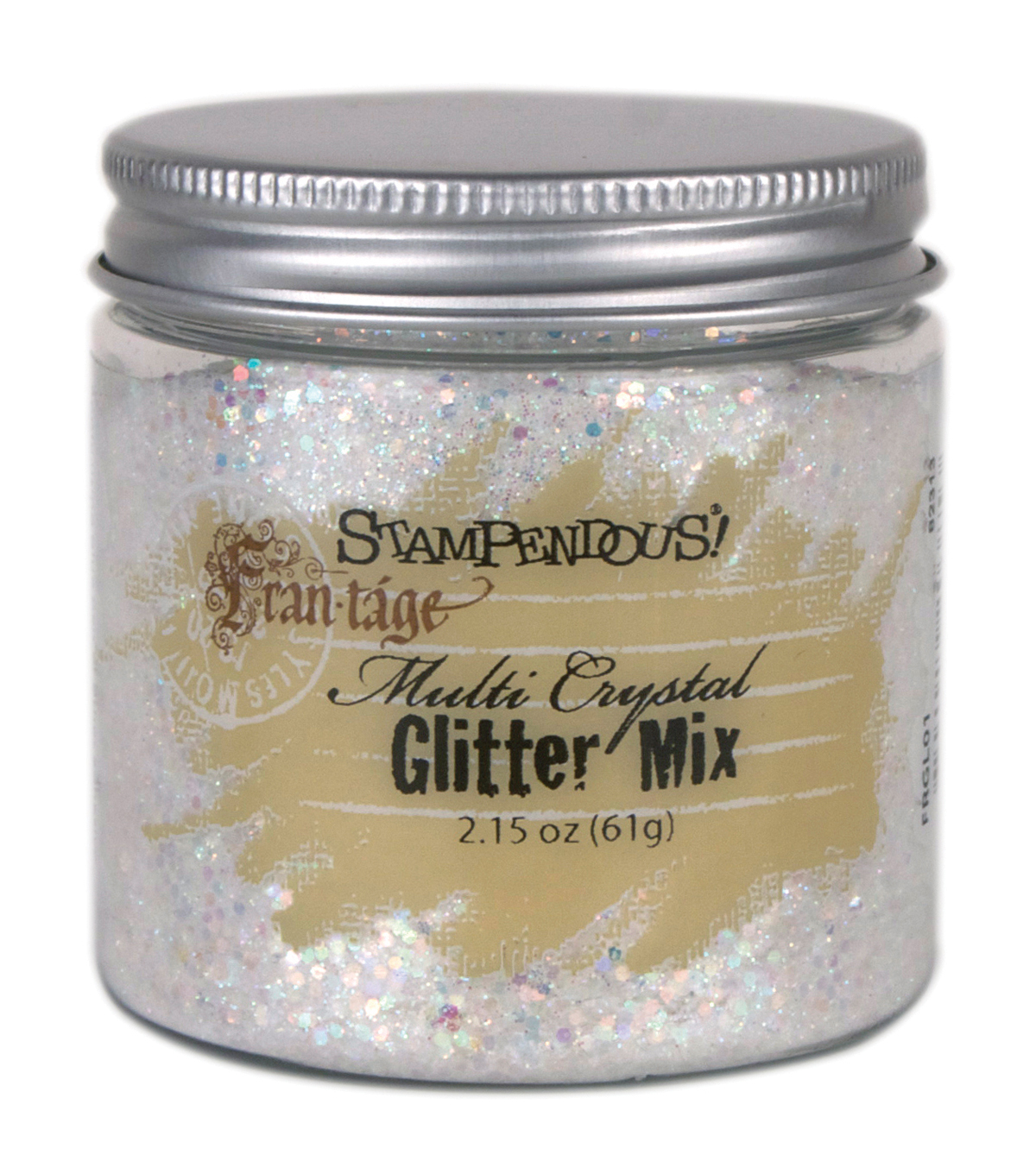 Stampendous Multi Crystal Glitter Mix 2.15oz-