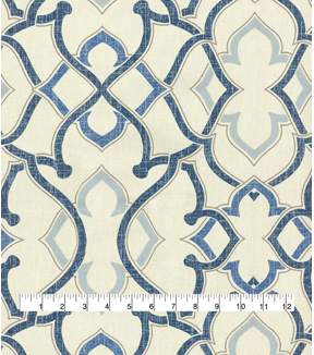 P/K Lifestyles Upholstery Fabric 54\u0027\u0027-Midnight Linked SD