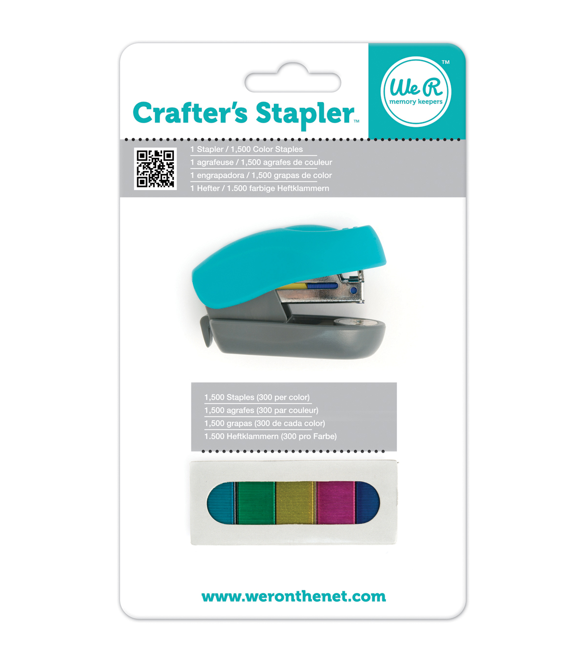 Crafter\u0027s Stapler with 1,500 Staples