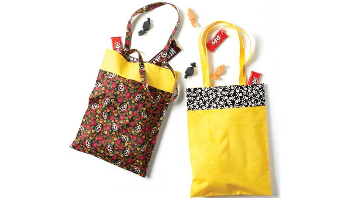 Kids Sew Trick Or Treat Bag