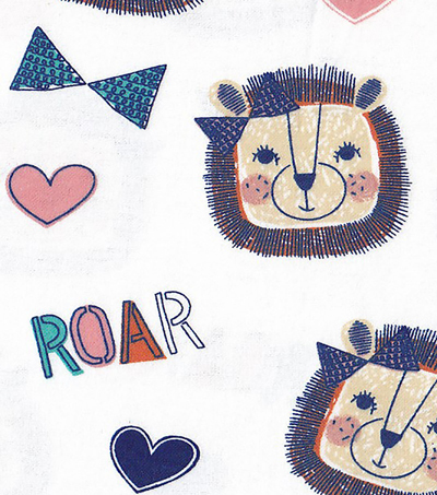 "Snuggle Flannel Fabric 42""-Roar"