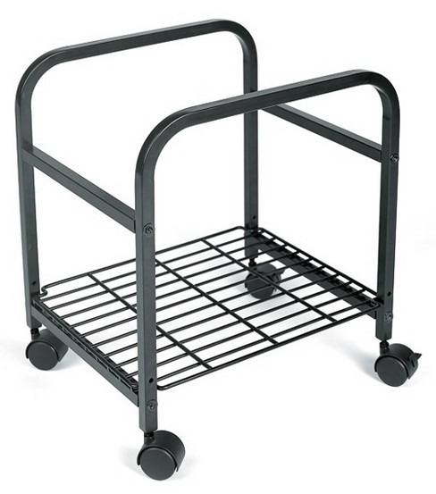 Cropper Hopper Heavy Duty Rolling Cart-Black