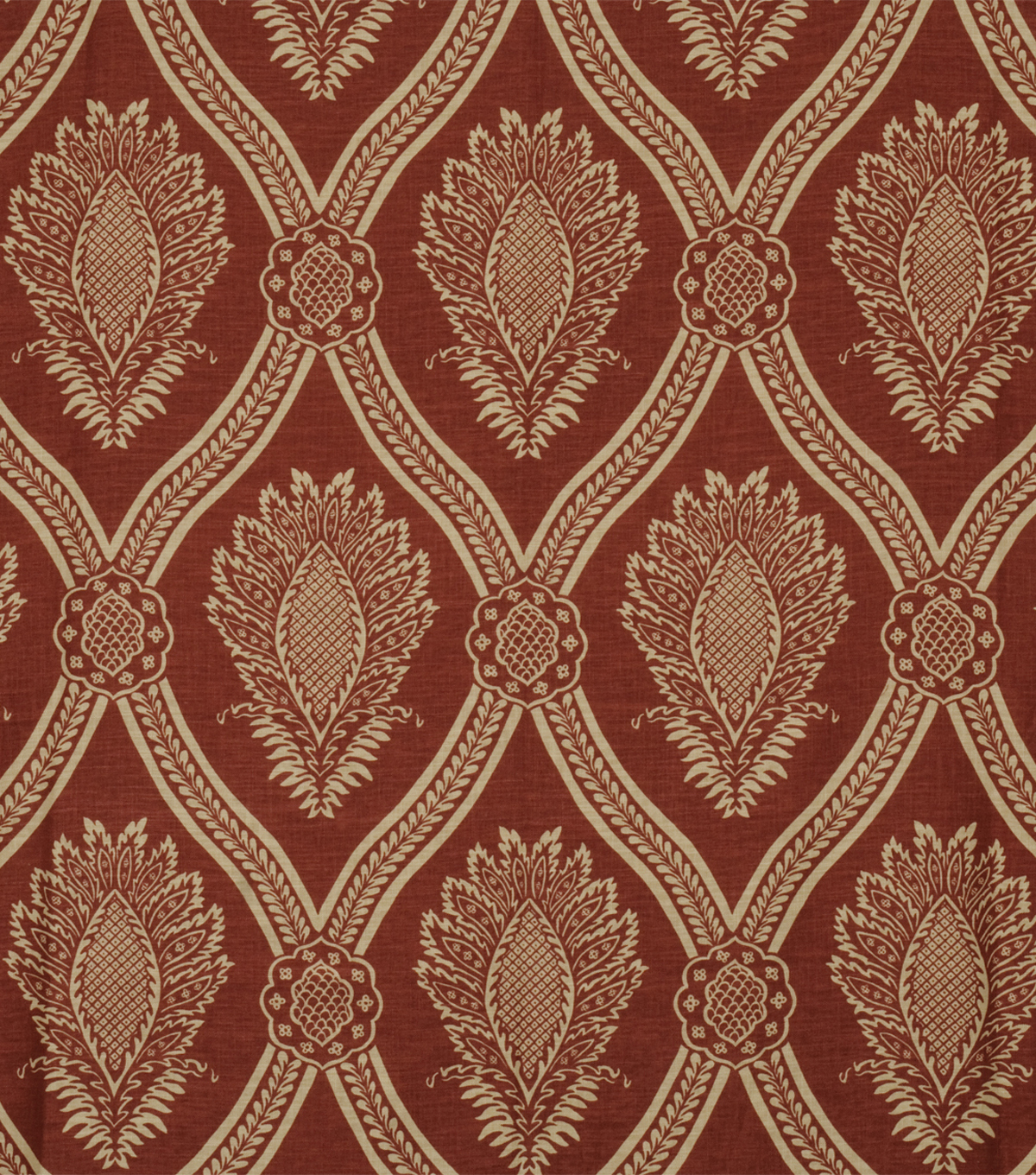 Home Decor 8\u0022x8\u0022 Fabric Swatch-Jaclyn Smith Hollywood-Crimson
