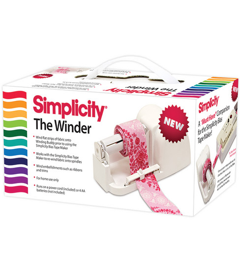 Simplicity The Winder Machine for Bias Tape Maker