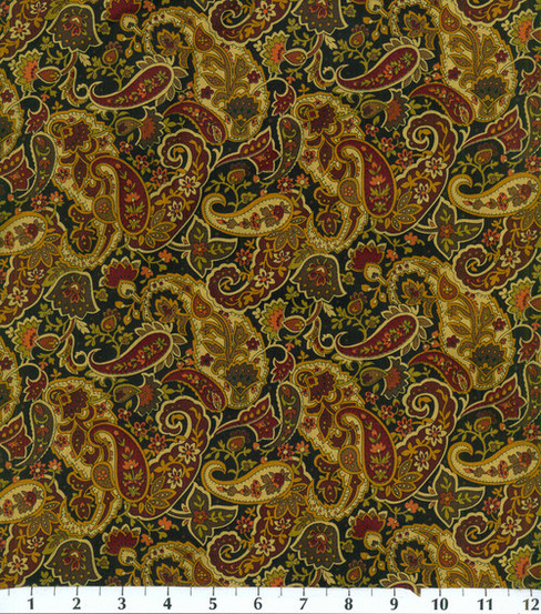 Keepsake Calico™ Cotton Fabric 44\u0022-Paisley