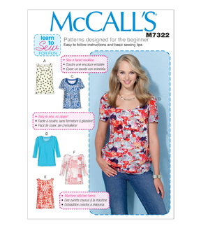McCall's Misses Top-M7322