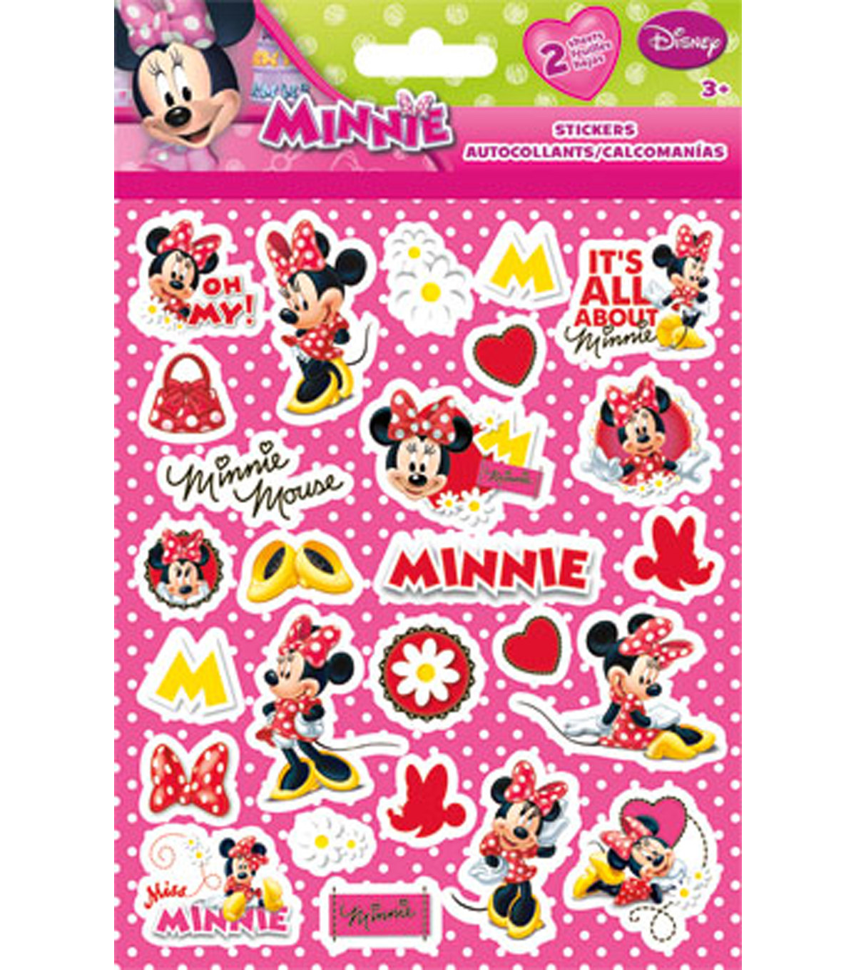Minnie Mouse Foldover Sticker