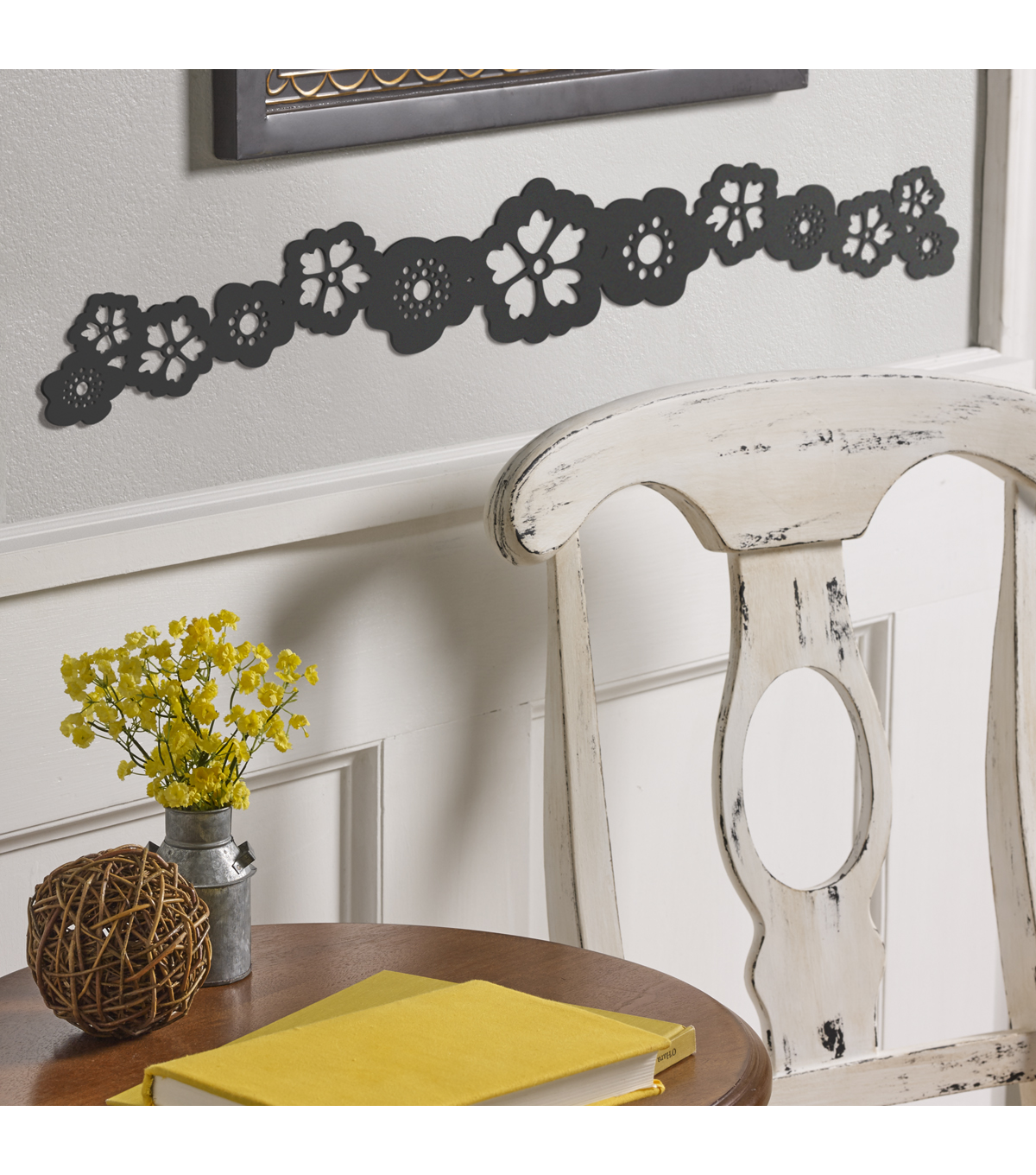 Buttercream™ Elizabeth Collection Long Furniture Applique-Classic Floral