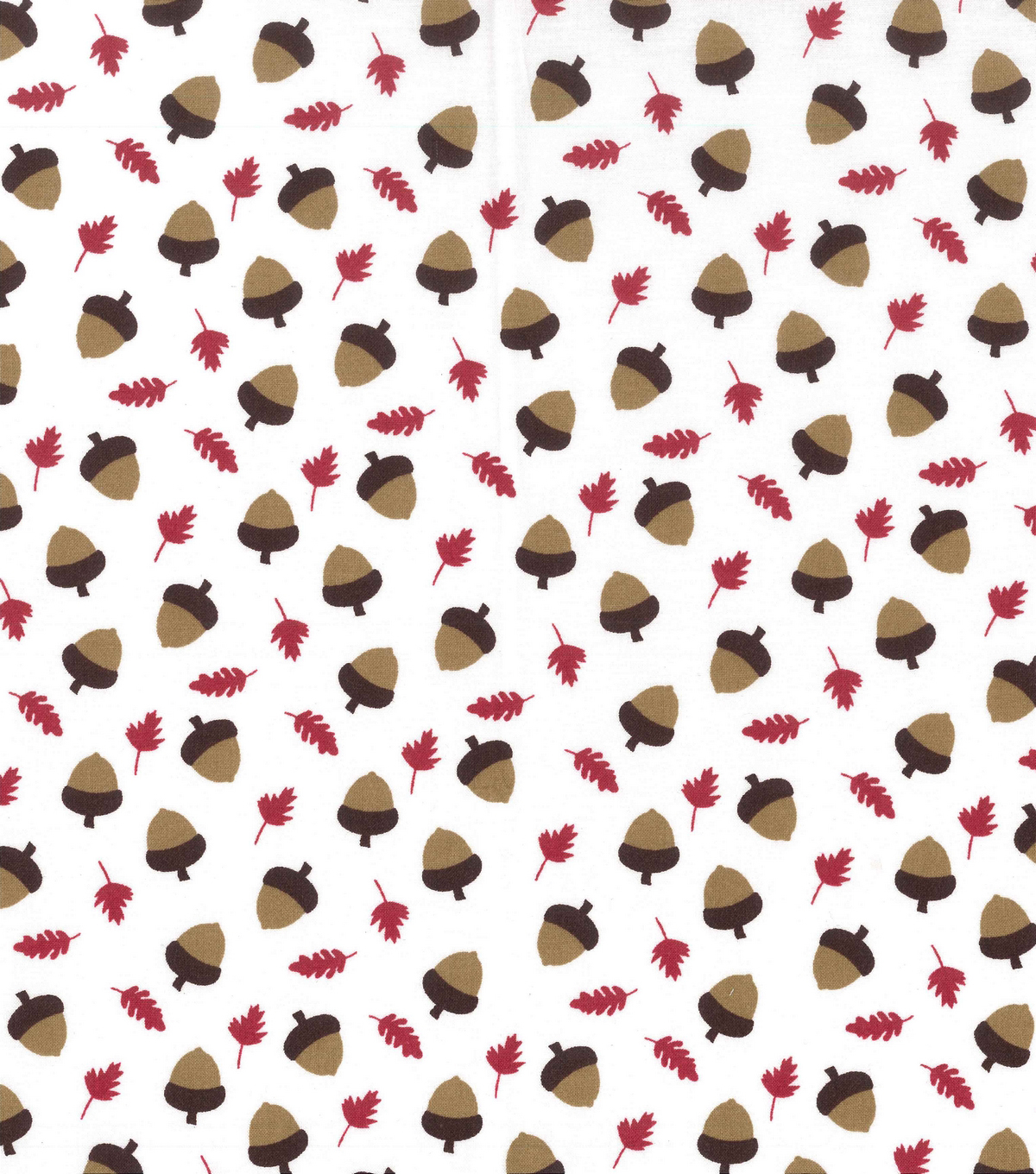 Holiday Showcase™ Harvest Cotton Fabric 43\u0022-Acorns & Leaves