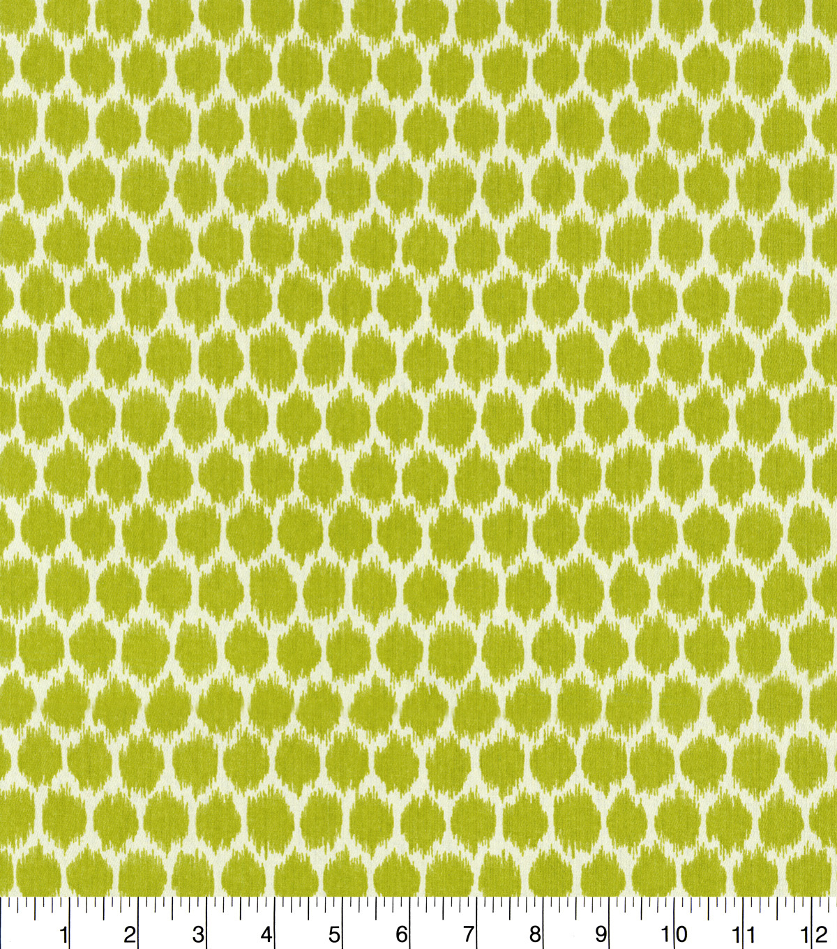 "Waverly Upholstery Fabric 54""-Seeing Spots/Wasabi"