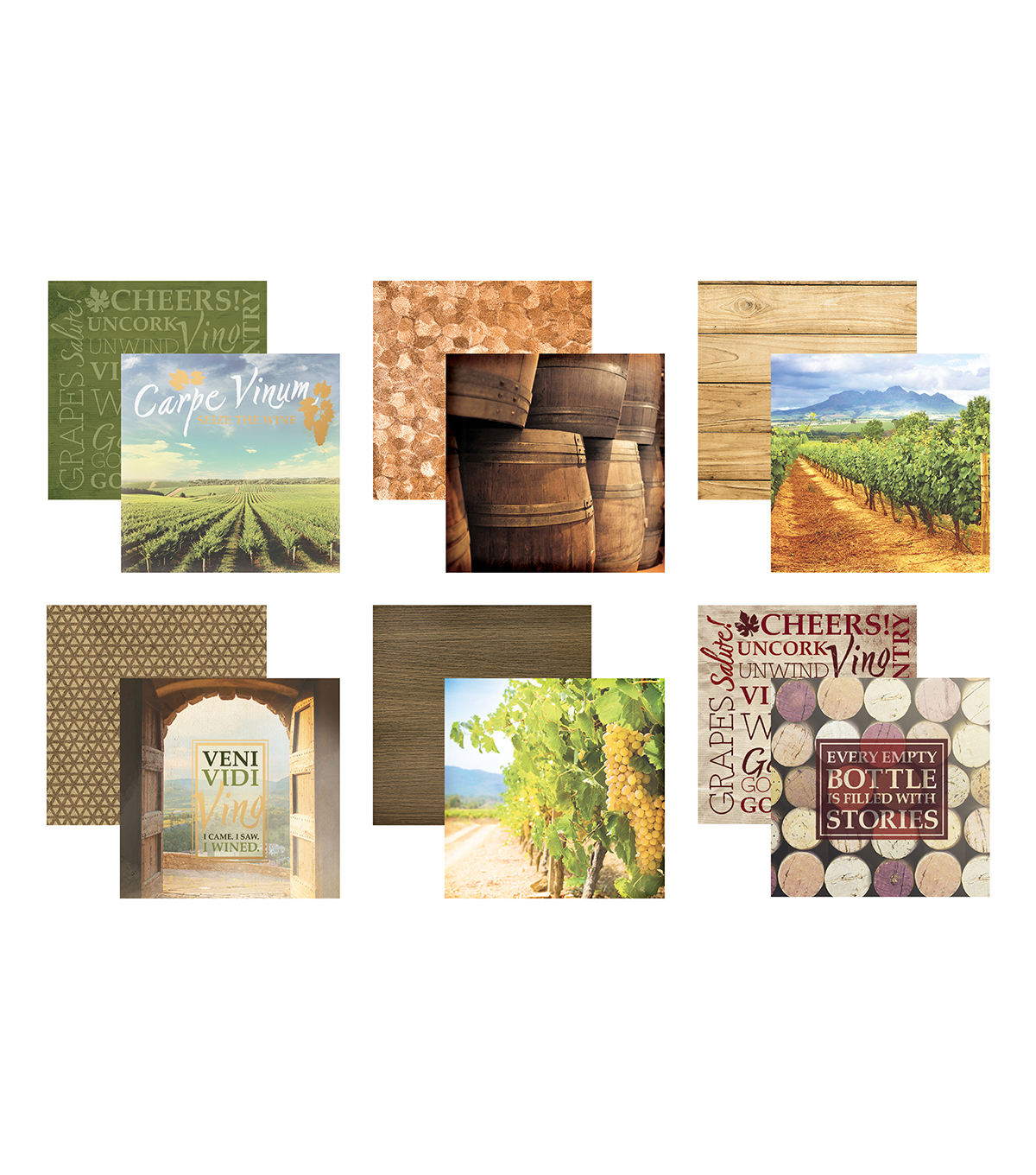 Snapshots Cards-Wine Country