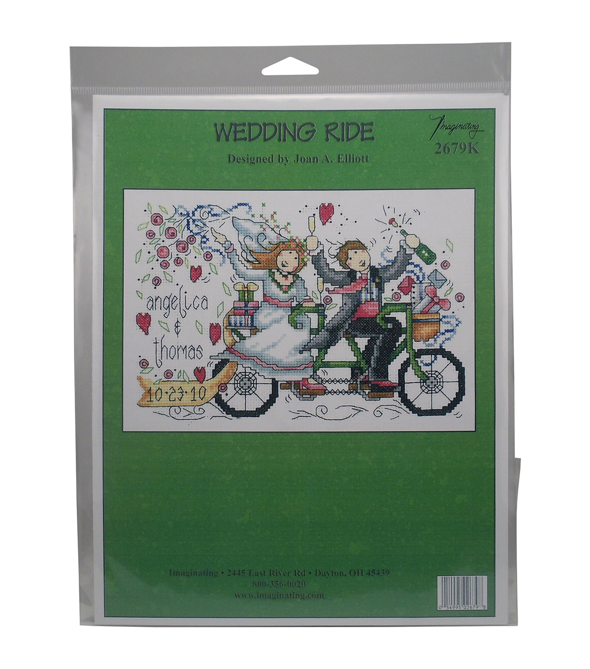 Imaginating Counted Cross Stitch Kit-Wedding Ride Wedding Record