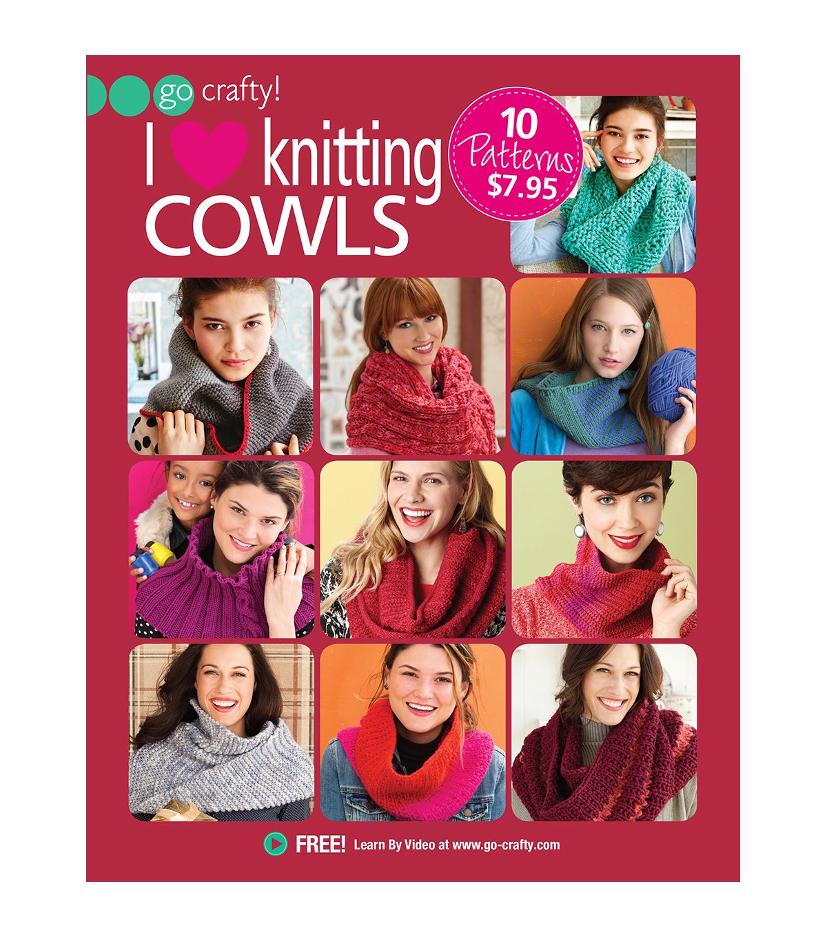 I Love Knitting Cowls Book