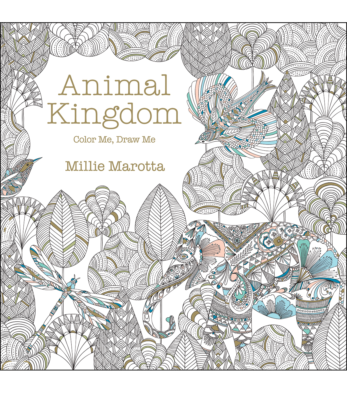 Adult Coloring Book Lark Books Animal Kingdom