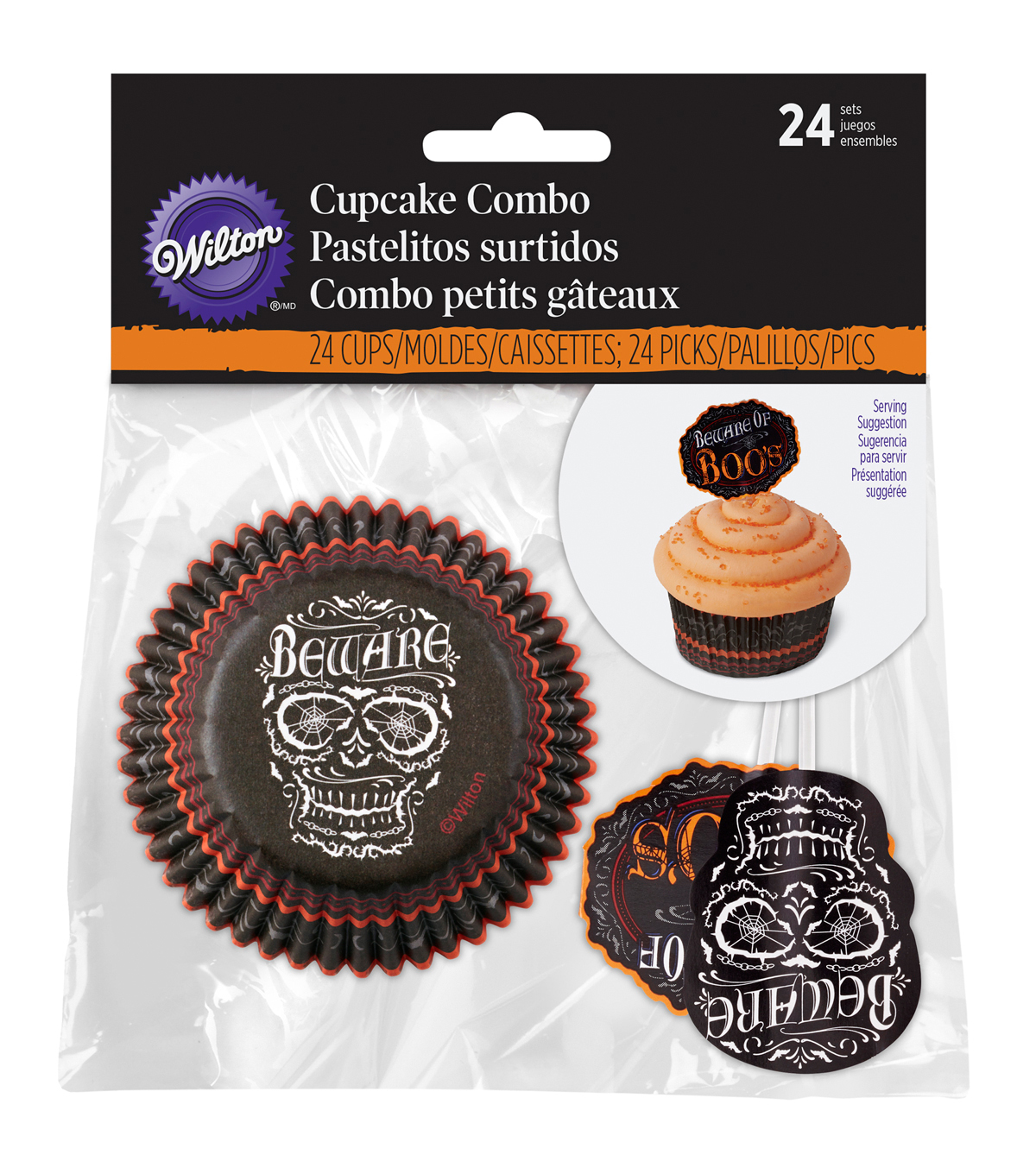 Wilton® Cupcake Combo Pack 24/Pkg-Hallows Eve