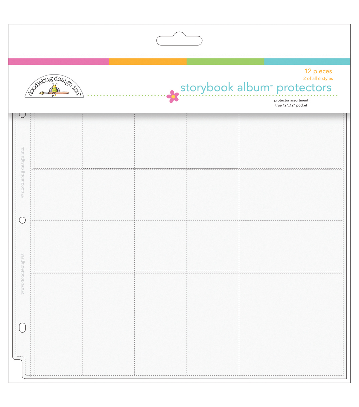 "Doodlebug Protector Assortment 12""X12""-12 Pieces 2 Of 6 Styles"