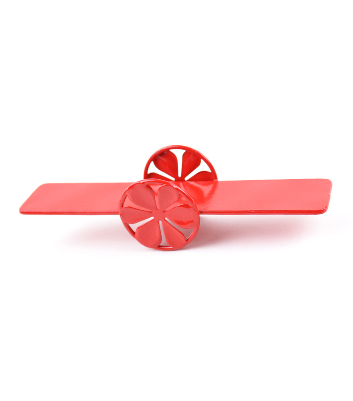 Fairy Garden Metal Seesaw-Red