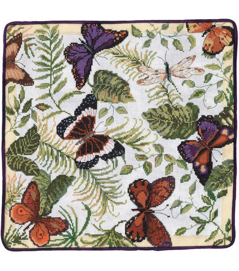 Butterflies Galore Counted Cross Stitch Kit