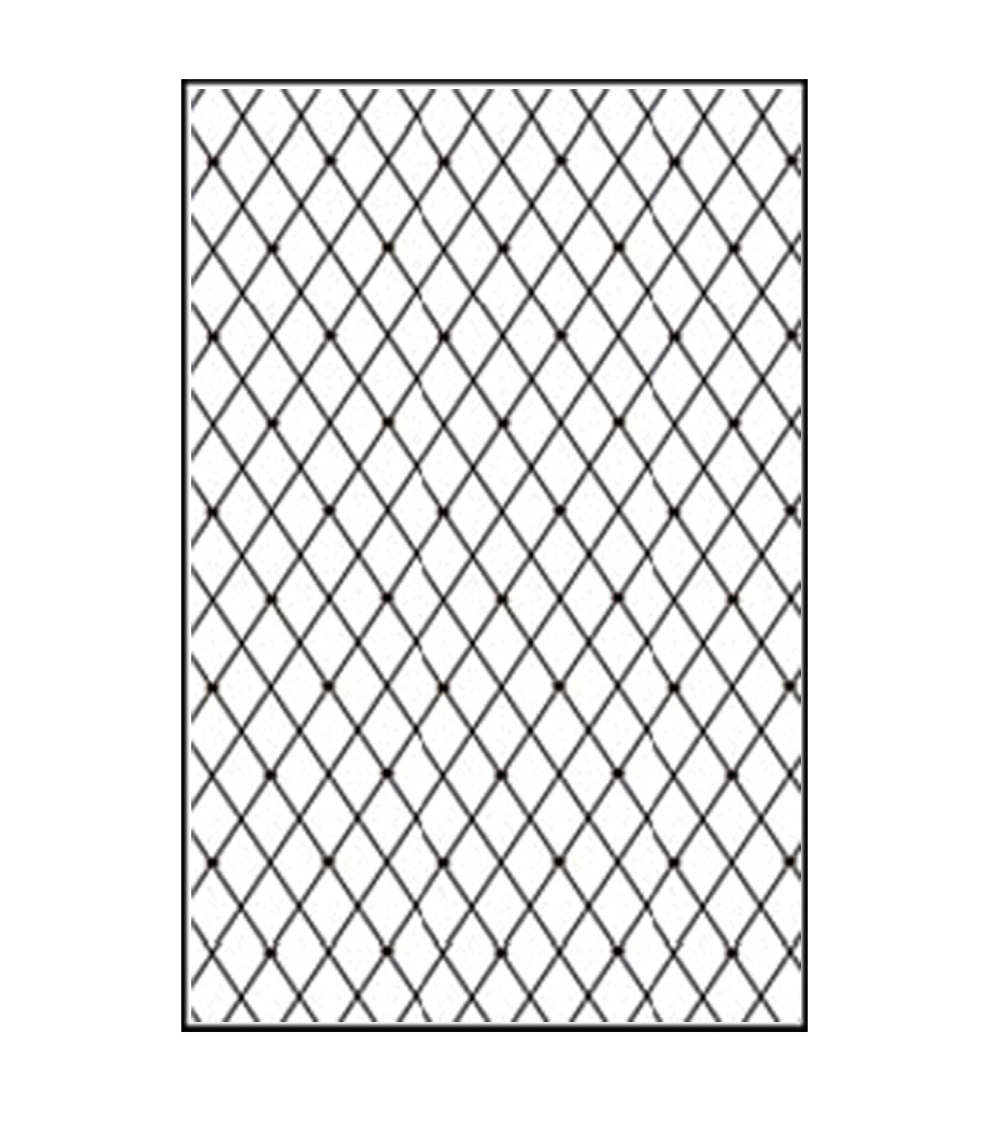 Nellie\u0027s Choice Embossing Folder A4-Lattice