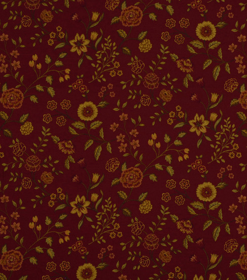 "Home Decor 8""x8"" Fabric Swatch-Robert Allen Mirabilis Henna Fabric"