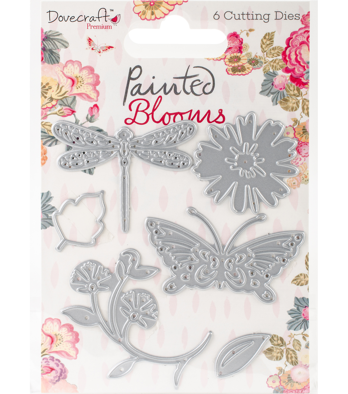 Dovecraft Dies-Painted Blooms,