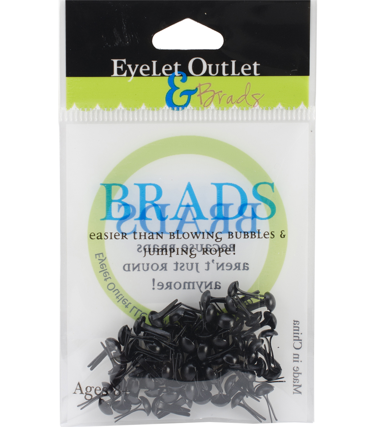 Eyelet Outlet 4mm Round Brads
