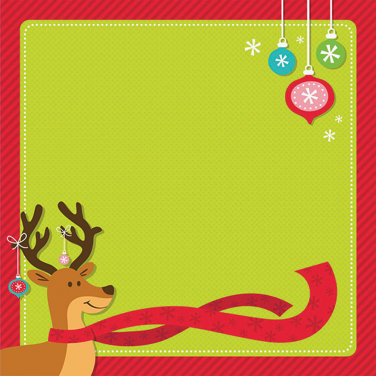 "Easy Peasy Page Layout with 3D Design 12""X12""-Kids Christmas"