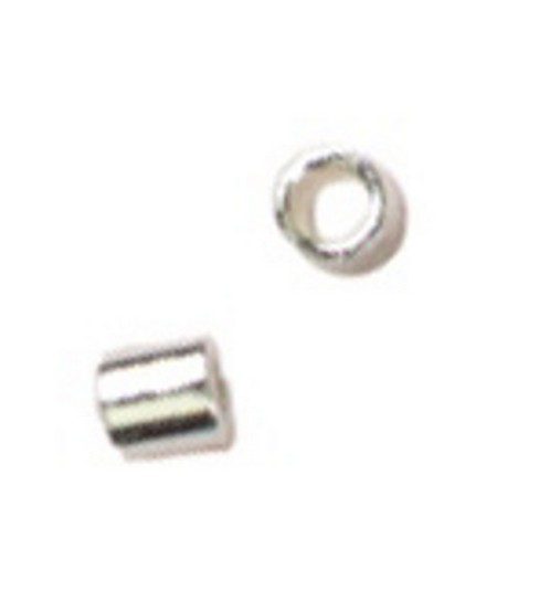 Cousin Silver Elegance 2mm Crimp-60PK/Sterling Silver