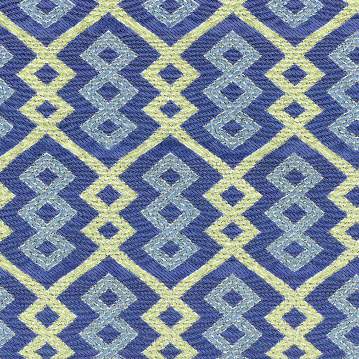 "IMAN Home Upholstery Fabric 55""-Tribal Twist/Lapis"