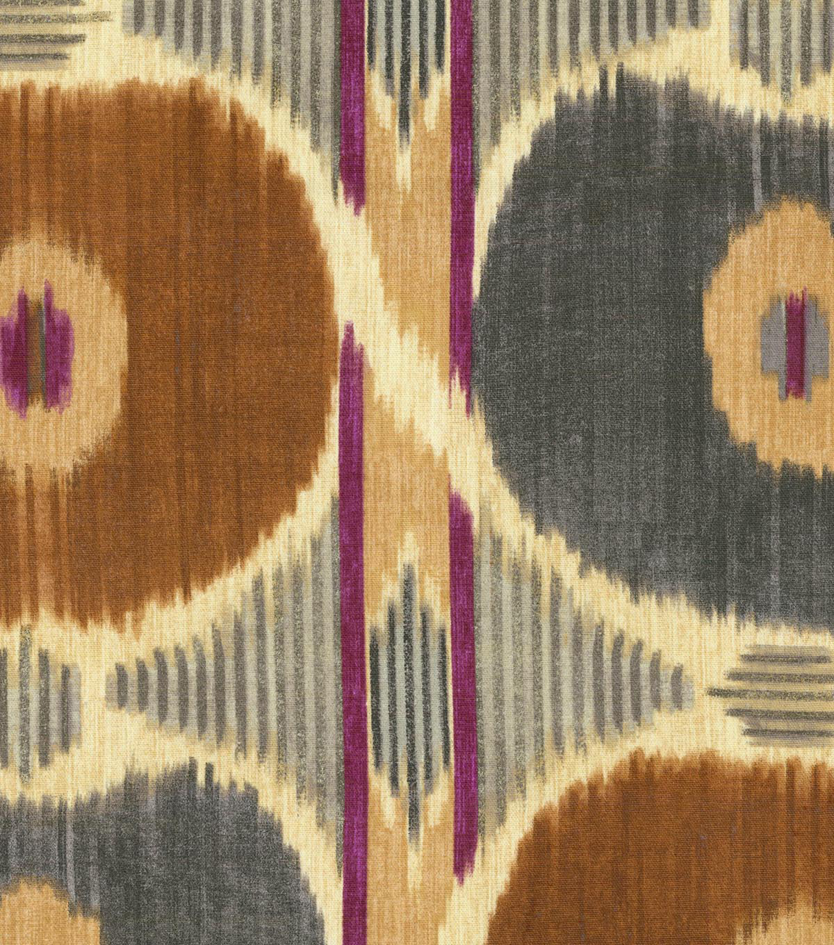 IMAN Home Upholstery Fabric 54\u0022-Spice Islands/Sepia