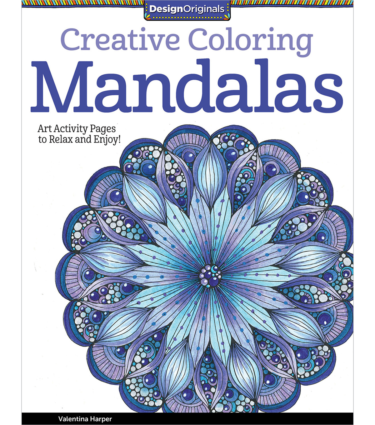 Adult Coloring Book Creative Mandalas