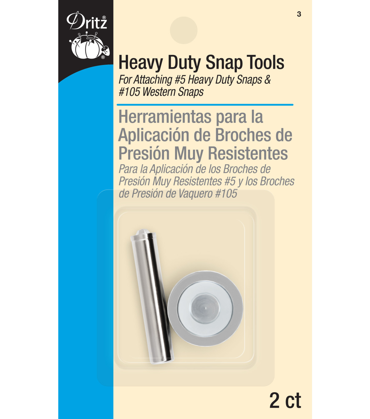 Dritz® Mighty Snap Attacher For #5 Heavy Duty Snap