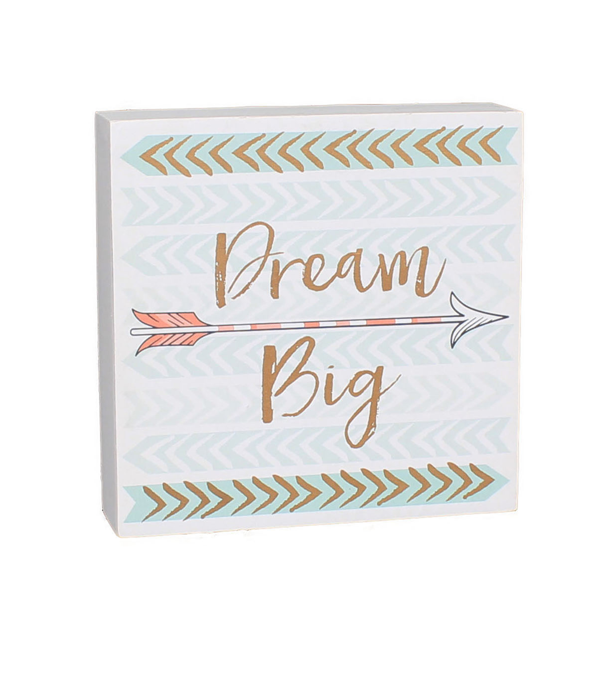 Wild Blooms Word Block-Dream Big
