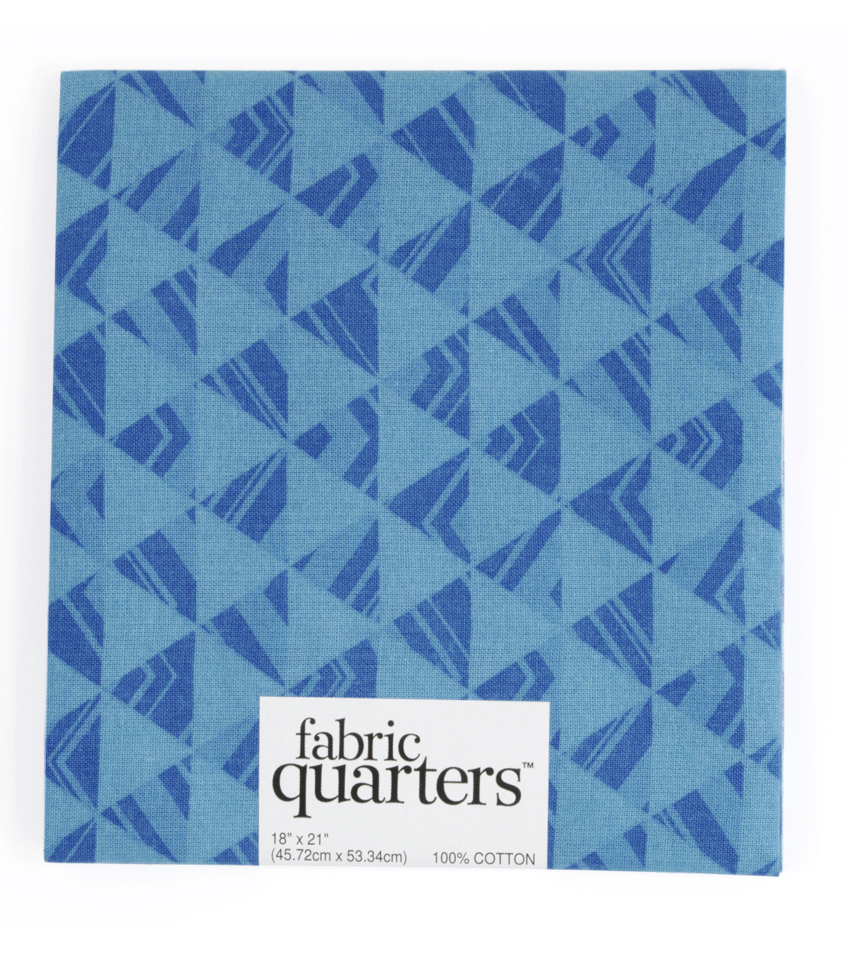 "Fabric Quarters Cotton Fabric 18""-Blue"