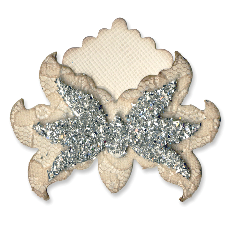 Sizzix Originals Die Ornate Flower