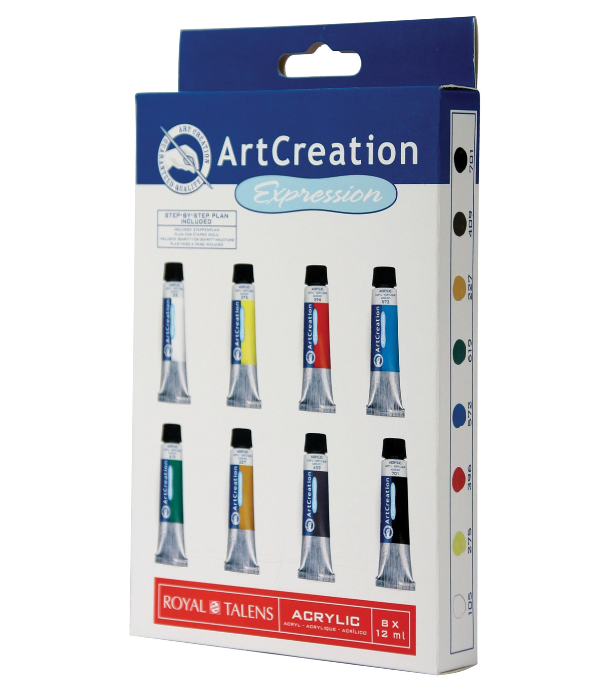 ArtCreation Expression Acrylic Color Sets 8