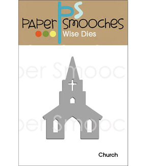 Paper Smooches Church Die