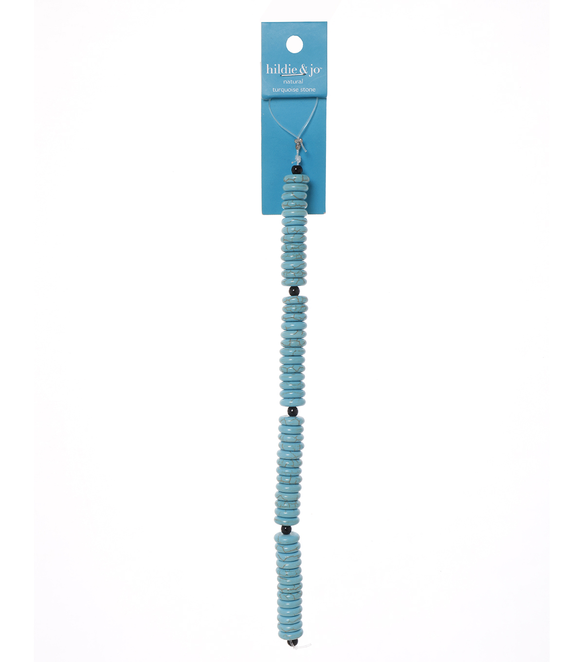 Advantus/Sulyn Fiesta Discs Bead Strand, Turquoise