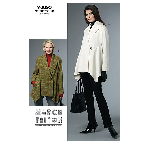 Mccall Pattern V8693 Bb (8-10-1-Vogue Pattern
