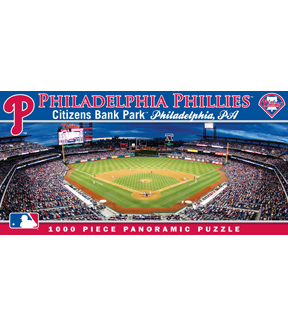 Philadelphia Phillies Master Pieces Panoramic Puzzle