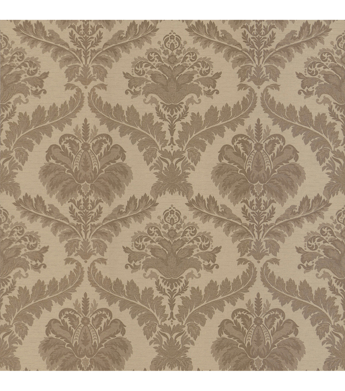 Arabella Gold Damask Wallpaper Sample