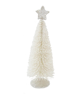 Maker\u0027s Holiday Large Sisal Tree-White
