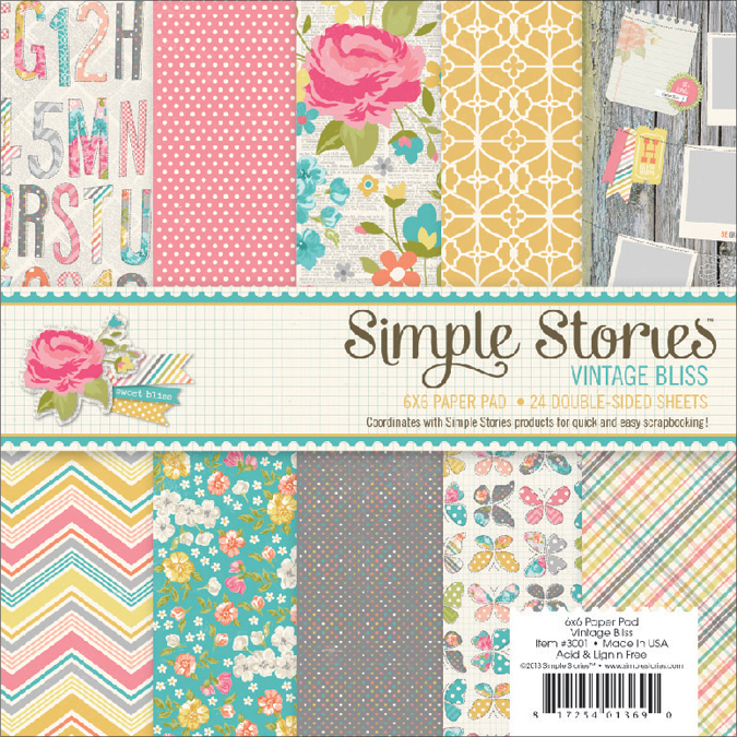 Simple Stories Vintage Bliss Paper Pad