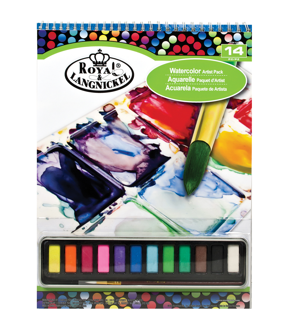 Royal Langnickel Watercolor Artist Pack