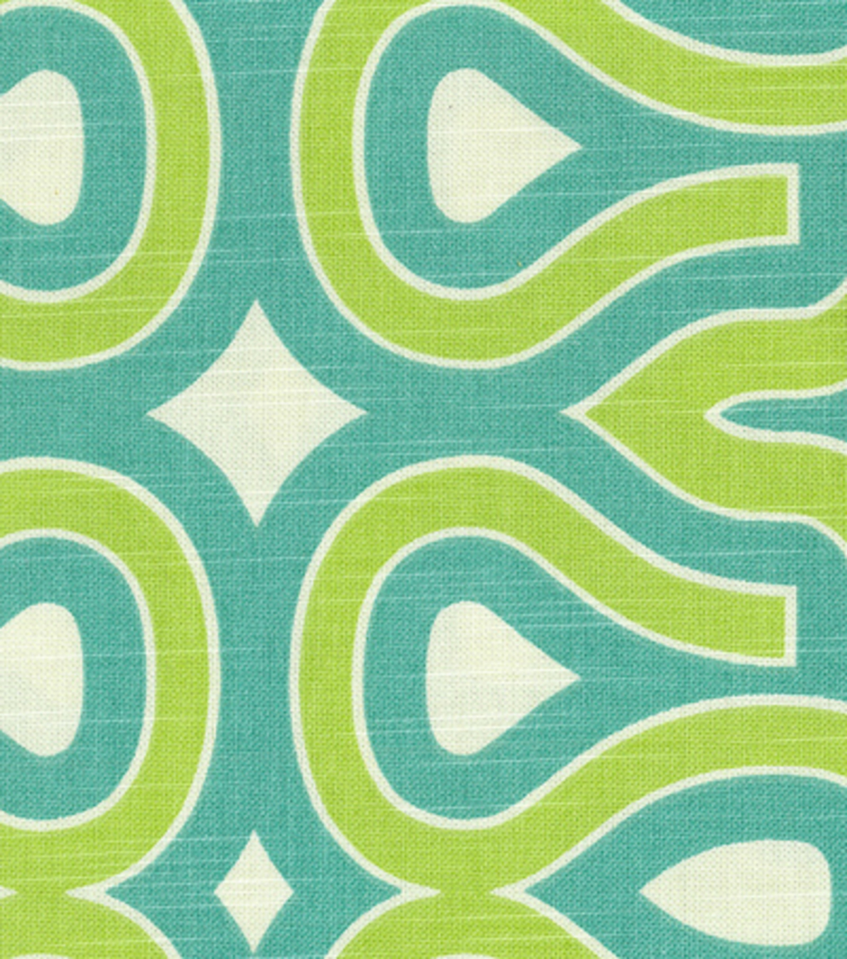 Home Decor 8\u0022x8\u0022 Fabric Swatch-Turtle Shell/turquoise