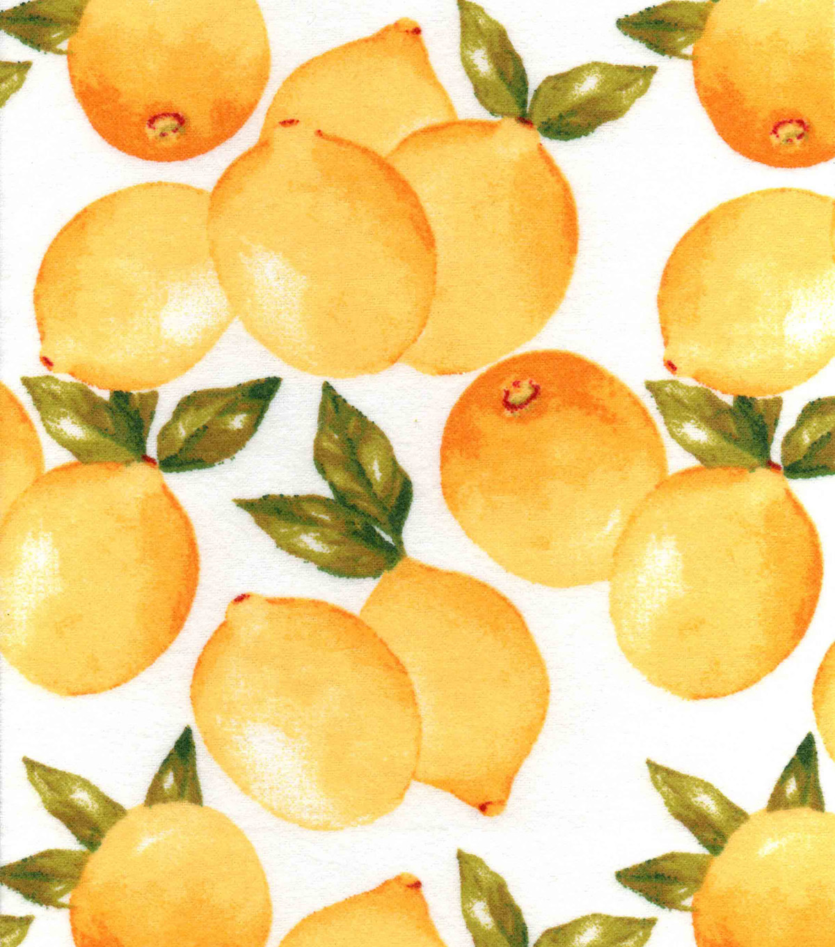 Snuggle Flannel Fabric 42\u0022-Lemons