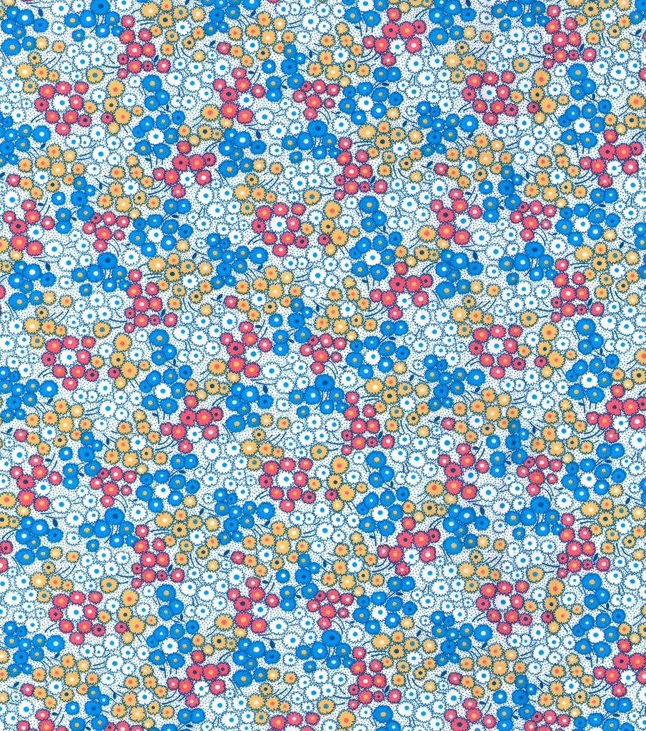 Made In America Cotton Fabric 44''-Multi Dotty Floral